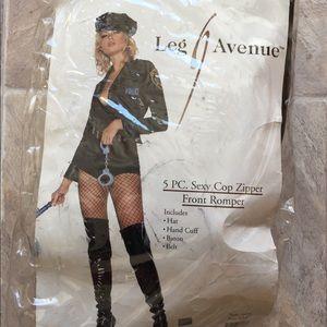Cop costume s/m Halloween